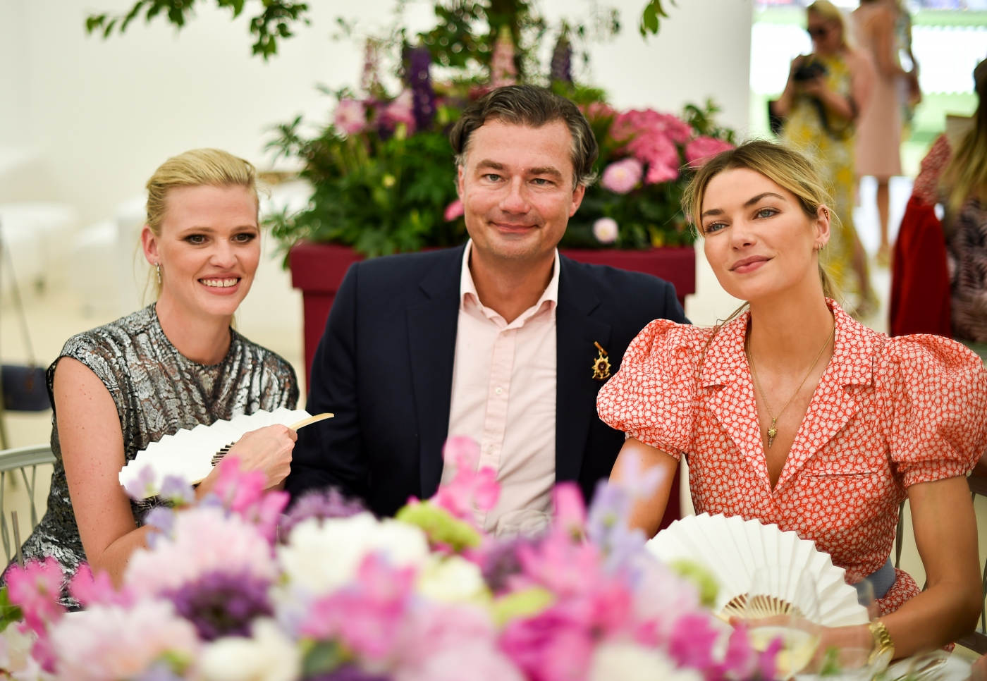 [ Luxe ] Lara Stone, Laurent Feniou, Jessica Hart,  the Cartier Queen's Cup Polo at Guards Polo Club