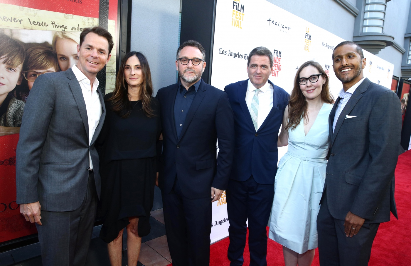 "[ Avant-Première ] Jason Cassidy, Carla Hacken, Josh Welsh, Jennifer Cochis and Abhijay Prakash seen at Focus Features ""The Book of Henry"" Premiere"