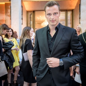 Lars Burmeister, Bulgari Boutique Opening In Frankfurt Am Main