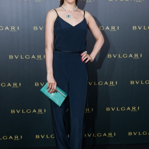 Aylin Tezel, Bulgari Boutique Opening In Frankfurt Am Main