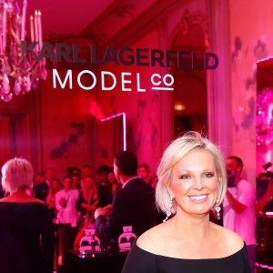 CEO Shelley Sullivan attends the the Karl Lagerfeld & ModelCo