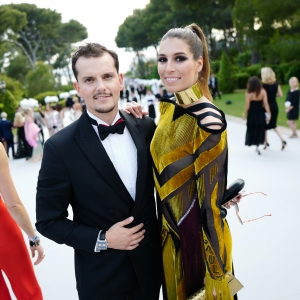 Juan Arbelaez and Laury Thilleman, the amfAR Gala Cannes 2017