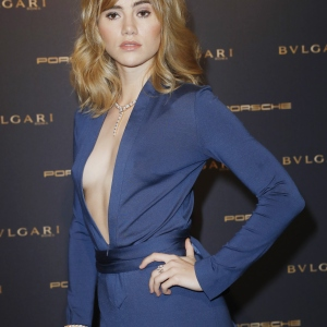 The Bulgari, Night of the Legend event, Suki Waterhouse
